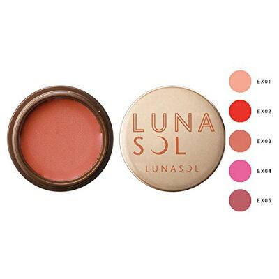 ルナソル -LUNASOL- カラーグロウバーム #EX02 Spicy Red リップ アイシャドウ チーク