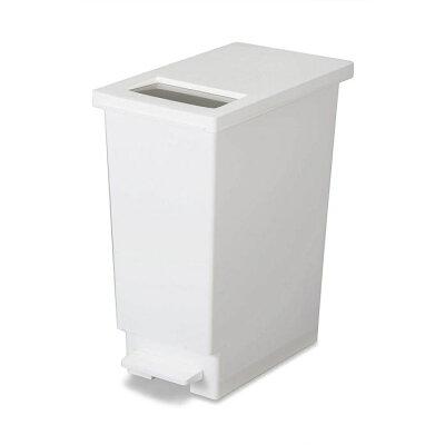 トンボ ユニード ゴミ箱 プッシュ & ペダルペール ホワイト   30s
