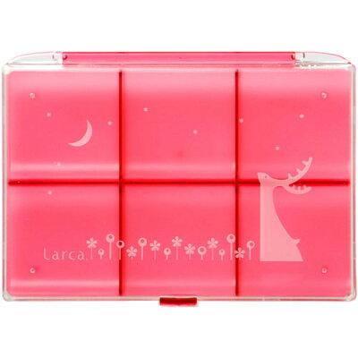 ラルカ ブローチケース ピンク(1コ入)