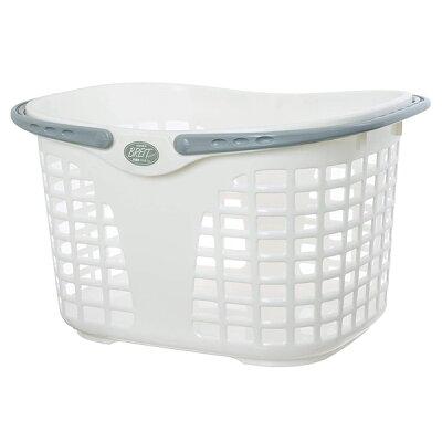 ブライトバスケット No.4 ホワイト~サンコープラスチック~