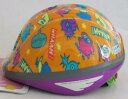 OGK オージーケーカブト / サイクルヘルメット / PEACH KIDS 約47-51cm / モンスターオレンジ