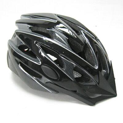 サイクルヘルメット バイシクルヘルメット 大人用 55-59cm ブラック