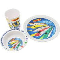 プラレール SET936メラミン食器3点セット/子供用386909