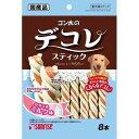 サンライズ ゴン太のデコレスティック ササミ&ミルク味(8本入)