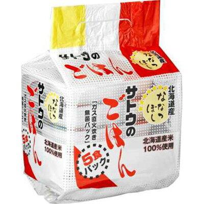佐藤食品工業 サトウのごはん 北海道産ななつぼし5食パック