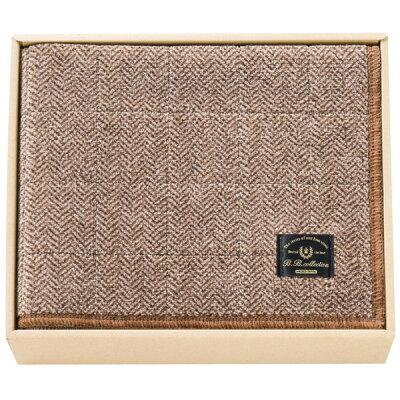 センコー BBコレクション フラフィット ヘリンボン キッチンマット120 ブラウン 34132