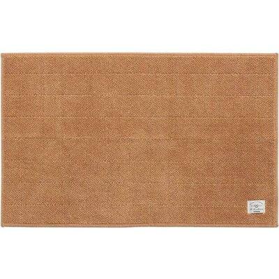 センコー SENKO B.B.collection ヘリンボンN キッチンマット 約50×78cm ベージュ 36178