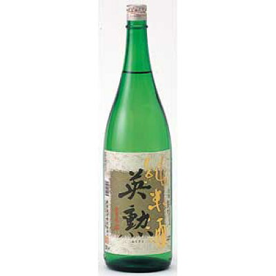 英勲 純米酒 1.8L