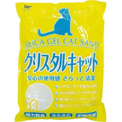 猫砂 スーパーキャット クリスタルキャット(4L)