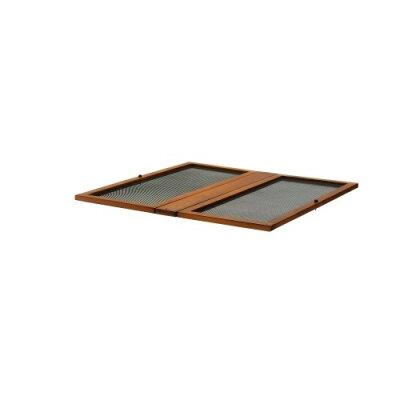 リッチェル 木製スクエアペットルーム 90-90 屋根面 ダークブラウン(1コ入)