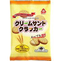 サンコー クリームサンドクラッカー メープル風味(95g)