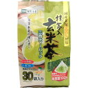 国産茶葉100%使用 抹茶入り玄米茶 三角ティーパック 30袋入
