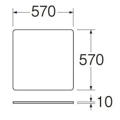 三栄水栓 洗濯機用トレー 全自動用 PH545-570(1コ入)
