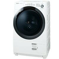 SHARP  プラズマクラスター ドラム式洗濯乾燥機 7.0kg  ES-S7D-WR