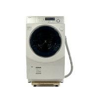 SHARP ドラム式洗濯乾燥機 ES-H10D-WL