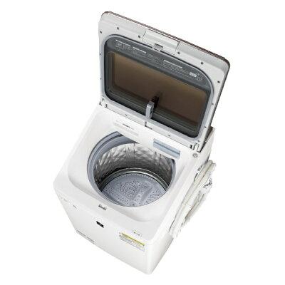 SHARP タテ型洗濯乾燥機 ES-PW10D-T