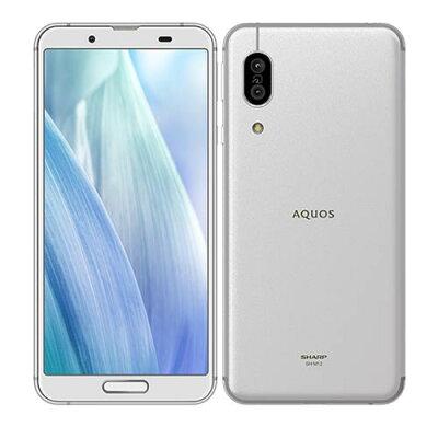 SHARP SIMフリースマートフォン AQUOS sence3 SH-M12 シルバーホワイト
