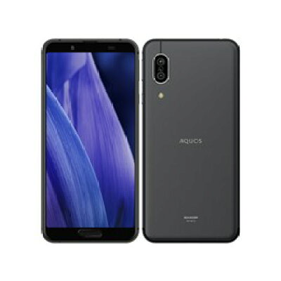 SHARP SIMフリースマートフォン AQUOS sence3 SH-M12 ブラック