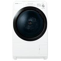 SHARP ドラム式洗濯乾燥機 ES-S7E-WL