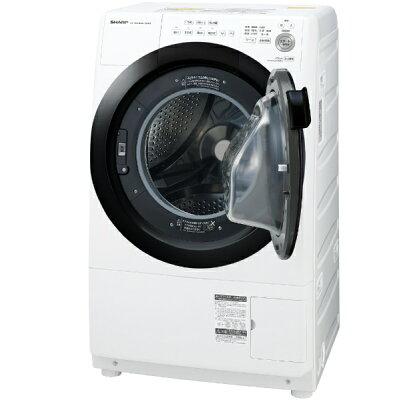 SHARP ドラム式洗濯乾燥機 ES-S7E-WR