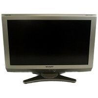SHARP AQUOS 地上・BS・110度CSデジタル ハイビジョン 液晶テレビ E 20型 LC-20E6-S シルバー