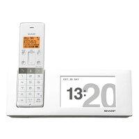 SHARP 電話機 JD-4C2CL-W