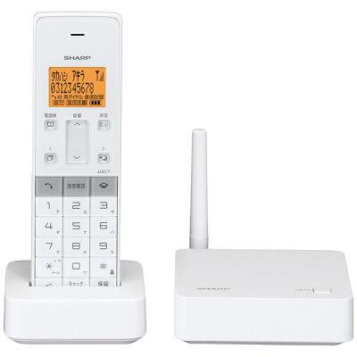 SHARP 電話機 JD-SF1CL-W
