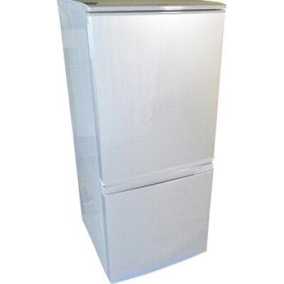 SHARP つけかえどっちもドア 冷蔵庫 SJ-D14B-S