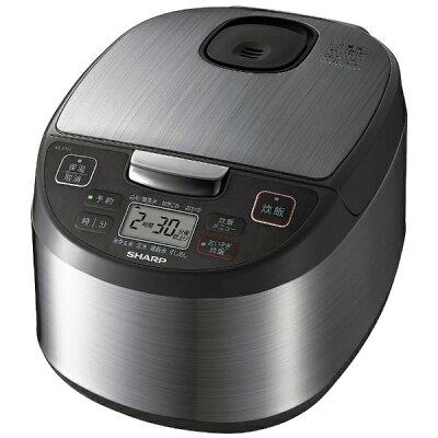 SHARP 黒厚釜&球面炊き 炊飯器 KS-S10J-S