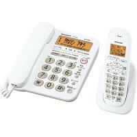シャープ デジタルコードレス電話機 子機1台タイプ JD-G32CL ホワイト系