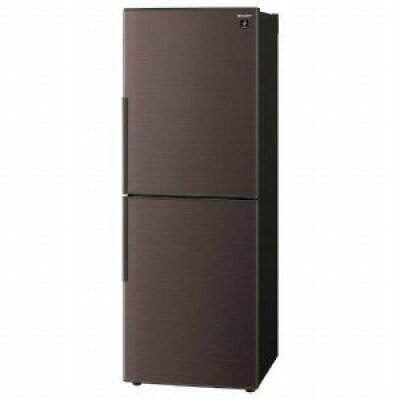 SHARP プラズマクラスター 2ドア冷蔵庫  SJ-PD28E-T