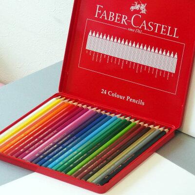 シヤチハタ 色鉛筆 24色セット