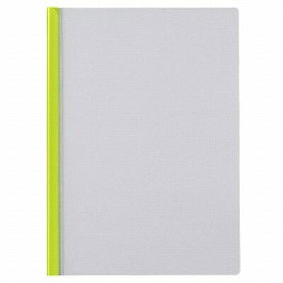 セキセイ スライドインファイル 高透明 A4 ライトグリーン ライトグリーン