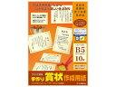 ササガワ 手作り賞状作成用紙 B5 10-1966