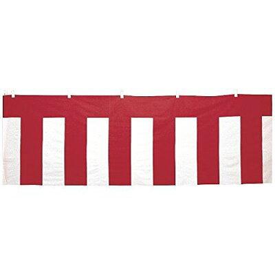 ササガワ タカ印 紅白幕 木綿製 紅白ロープ付き 縦510mm×長さ9m 40-6504