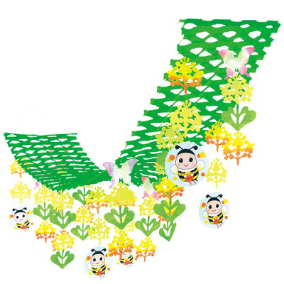 ササガワ タカ印 /店飾 菜の花ハンガー/39-738
