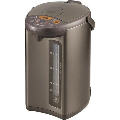 象印 マイコン沸とう電動ポット メタリックブラウン CD-WU40-TM(1台)