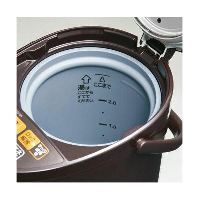 象印 VE電気まほうびん 2.2L CV-GB22-TA ブラウン(1台)