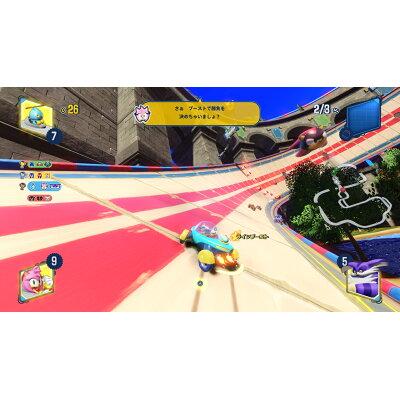 チームソニックレーシング/Switch/HACPAMKCC/A 全年齢対象