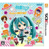 初音ミク Project mirai でらっくす/3DS/CTRPBRXJ/A 全年齢対象