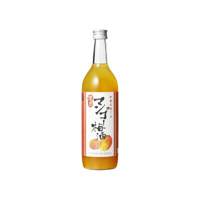 和歌のめぐみ マンゴー梅酒 箱無 720ml