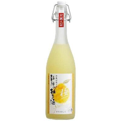 和歌のめぐみ 龍神柚子酒 極スパークリング 720ml