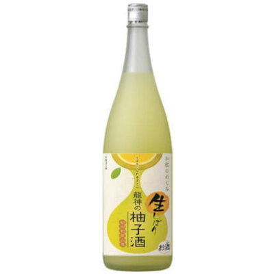 和歌のめぐみ 龍神の柚子酒 生しぼり 1.8L