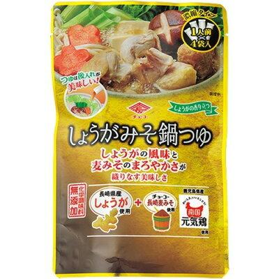 チョーコー醤油 しょうがみそ鍋つゆ(30ml*4袋入)