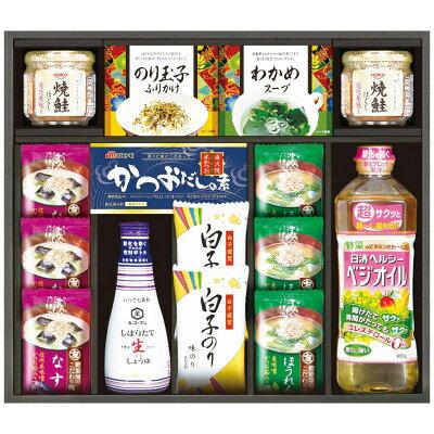 マルトモ フリーズドライみそ汁&日清 ベジオイル食卓セット MV-50A 6818-043