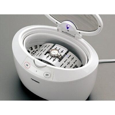 ツインバード 超音波洗浄機 ホワイト EC-4518W(1台)