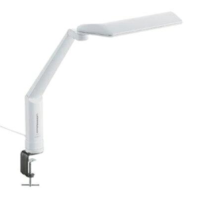 ツインバード LEDクランプ式デスクライト ホワイト LE-H635W(1台)