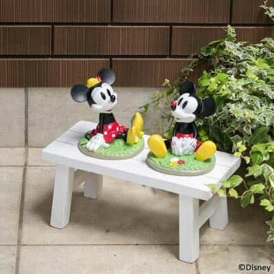 (ディズニー) ガーデンフィギュア ミッキー&ミニー