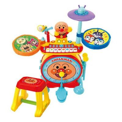 アンパンマン ノリノリライブ BIG電子ドラム&キーボード(1個)