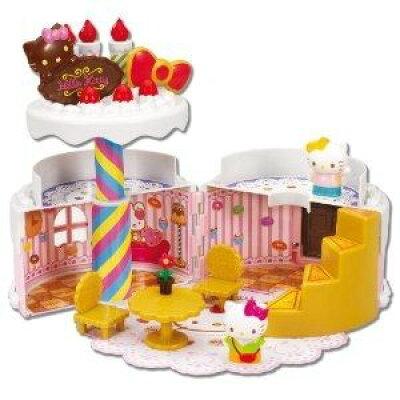 ハローキティ スウィーツワールドコレクション バースデーケーキハウス